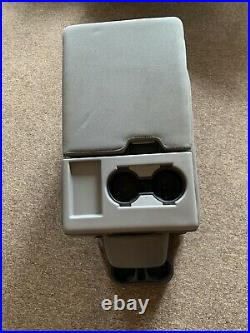 15-19 Ford F250 F350 Center Console Jump Seat STEEL GRAY WithCloth OEM