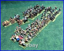 15 mm Painted American Civil War Confederate and Union Figures Lot 247