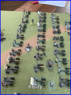 15mm ACW CSA Artillery 41 Field Pieces With Crew (147) Figures Detailed WarGames