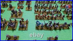 15mm ACW Confederate Army fully painted and based, approx 250 figs