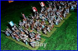 15mm ACW Confederate Infantry Advancing-painted