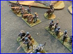 15mm Acw Confederate Infantry Battle Honors Painted