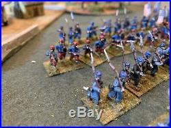 15mm Acw Union BH Painted Overcoats And Zouaves