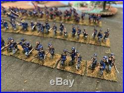 15mm Acw Union Infantry Essex Painted
