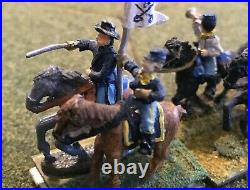 15mm American Civil War Union Cavalry Division, Painted Military Miniatures