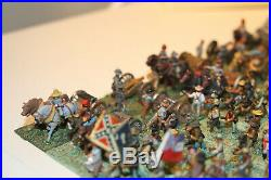 15mm Painted Metal ACW Confederate army based for Fire & Fury (365 pcs)