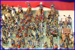 15mm Painted Metal ACW Union army based for Fire & Fury (330 pcs)