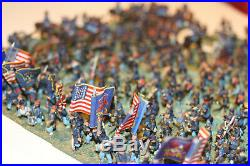 15mm Painted Metal ACW Union army based for Fire & Fury (373 pcs)