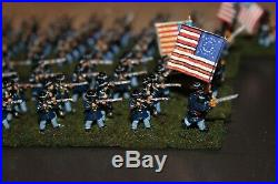 15mm Union ACW Based Fire and Fury 135 Figures Painted