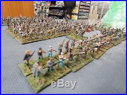 15mm painted AMERICAN CIVIL WAR CONFEDERATE INFANTRY (set 2)