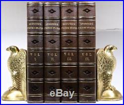 1866 History of the United States American Revolution Civil War Illustrated 11x8