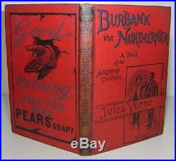 1891-93 JULES VERNE North Against South THE AMERICAN CIVIL WAR in Two Volumes