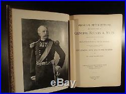 1896 1ed General Nelson Miles Civil War Native American Indian Wars Wild West