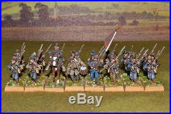 1/56 28mm DPS painted ACW American Civil War Confederate infantry RC310