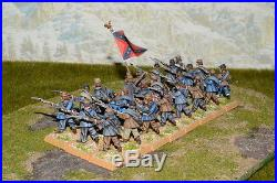 1/56 28mm DPS painted ACW American Civil War Confederate infantry RC421