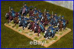 1/56 28mm DPS painted ACW American Civil War Union Cavalry RC408
