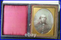 1/9 Plate Daguerreotype of American Army or Militia officer