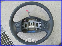 2006 F350 Leather Wrapped Steering Wheel withRadio Controls NICE 05-07