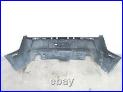 2011 2014 Ford Mustang Rear Bumper Cover Panel Black With Marker Lights Oem