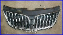 2011-2015 Lincoln MKX Upper Bumper Grill Grille Assembly Chrome Factory OEM