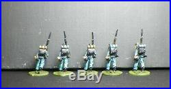 25 25mm28mm FOUNDRY Union 9th Connecticut Infantry - ACW based painted