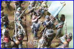 25-28mm Huge 92 Figure Acw Confederate Inf 2-3 Brigades Dixon's Army Collection