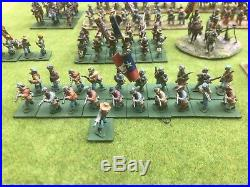 25mm Confederate army. Dixon Miniatures. Very nicely painted 216 pieces 2 cannon