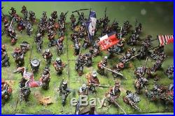 25mm Huge 122 Figure Acw Confederate Infantry Division Old Glory Army Collection