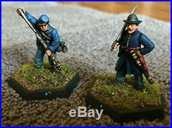 28mm American Civil War Miniatures Painted & Based Over 100 Figures