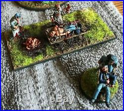 28mm American Civil War Miniatures Painted Lot 1 of 2