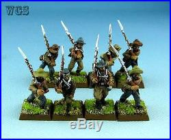 28mm American Civil War WGS painted Confederate Infantry ACW005