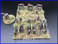 28mm, Painted, ACW, Confederate Artillery, Perry Miniatures (A) Black Powder