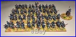 28mm, Painted, ACW, Union Brigade, Perry Miniatures (A) 97 Figures, Black Powder