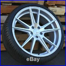 (4) 20x8.5 5x14.3 Et+30 Wheels & Tires Pkg Toyota Camry Is250 Is300 Honda Accord