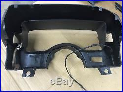 87-90-93 Ford Mustang BLACK Dash Complete with Trim Pad & Vent Glove Box Cobra OEM