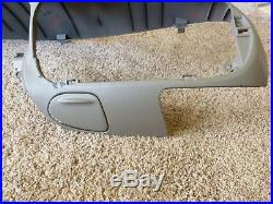 97-03 Ford F-150 F150 Brown / Tan Driver's Side Upper Dashboard Moulding Trim