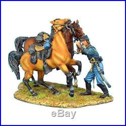 ACW038 Union Dismounted Cavalry Horse Holder by First Legion
