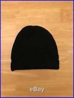 ACW A-Cold-Wall Zip Black Beanie Ships Immediately