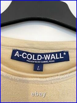 A COLD WALL ACW By Samuel Ross. RESET Collection SS17 SIZE LARGE JUMPER TOP