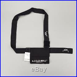 A COLD WALL Utility Holster Bag Pouch Shoulder ACW Black Canvas Supreme Sling