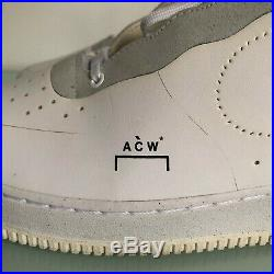 A-COLD-WALL x Nike Air Force 1 ACW white black gray US 12