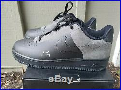A COLD WALL x Nike Air Force 1 Low Black BQ6924-001 US 10.5 Rare Suede NDS ACW