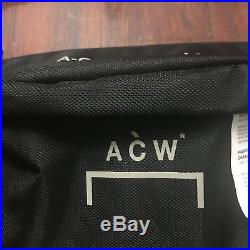 A Cold Wall ACW Body Waist Bag Shoulder Sling Nylon Supreme OW Palace Fanny Pack