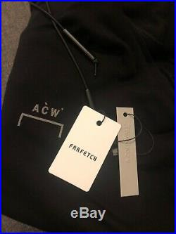 A-Cold-Wall ACW Logo Patch Hoodie Black L