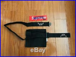 A Cold Wall Canvas Shoulder Bag ACW Off-White in Black one size