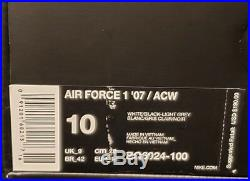 A Cold Wall x Nike Air Force 1'07 ACW 100% Authentic
