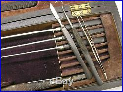 A Rare American Mid 1800s Southern Amputation Set, Rees Cincinnati Complete
