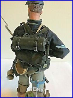 Action Figure 1/6th Scale, Sideshow, DiD American Civil War, custom on stand