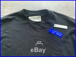 Acw A Cold Wall Crew Neck Sweat Size XL Rrp £395