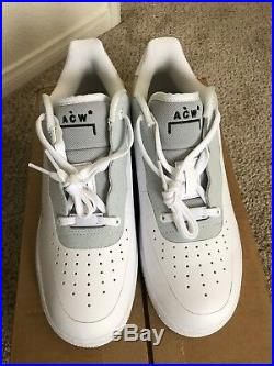 Air Force 1'07 x ACW A Cold Wall White Size 10.5
